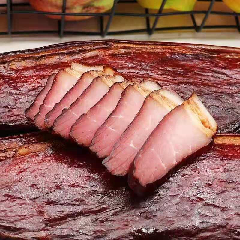 宁波农家特产自制酱肉500g非烟熏风干后腿肉酱肉油肉咸肉腊味